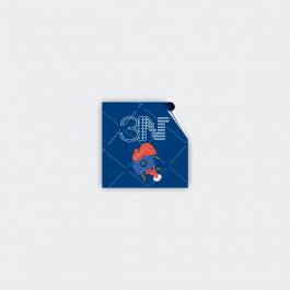 Adesivo Lacre De Segurança - QUADRADO Adesivo papel 120g 4,1x4,1cm 4x0 (só frente)  Corte Reto LSGQ01ZP