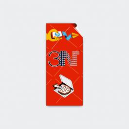 Adesivo Lacre De Segurança - Retangular Adesivo papel 120g 8,5x4cm 4x0 (só frente)  Retangular LSG01ZP