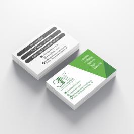 Cartão de visita - Frente color Verso cinza Couchê 250g 8,8x4,8cm 4x1 (frente colorido e verso cinza) Verniz Total Brilho Frente Corte Reto cod: C1012MP