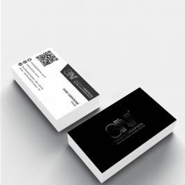 Cartão de visita - Fosca e Verniz Local Frente Couchê 300g 8,8x4,8cm 4x4 (frente e verso) Laminação Fosca e Verniz Localizado Frente Corte Reto cod: GVLF1ZP