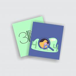Cartão Duplo 8,7x9,8cm - FRENTE E VERSO Couchê 250g 8,7x9,8cm 4x4 (Frente e Verso) Verniz Total Frente Corte Reto cod: CD2540CZP