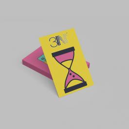 Mini folheto - 7,2x10,2cm - frente e verso Couchê 90g 7,2x10,2cm 4x4 (frente e verso) sem verniz Corte reto cod: PCB941ZP