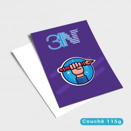 Panfletos - 21x30cm - Frente Couchê 115g 21x30cm 4x0 (só frente) Sem verniz Corte Reto cod: PF2013MP