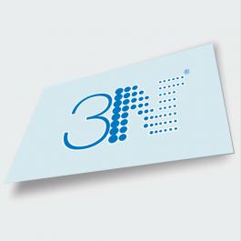 Placa de PS Transparente adesivada Placa de PS transparente - 2.0mm 200x100cm 4x0 (só frente)   PLPS0228AL